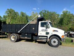Apex Hauling White Dump Truck (1)