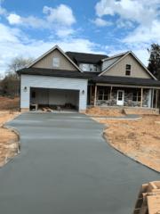 Concrete Driveway Beige house