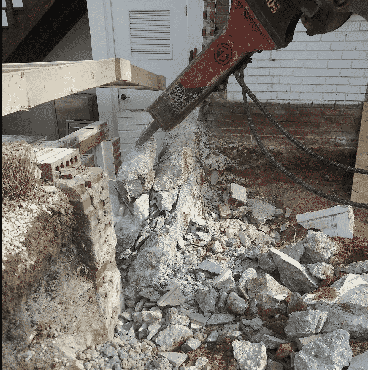 Concrete Foundation Demolition