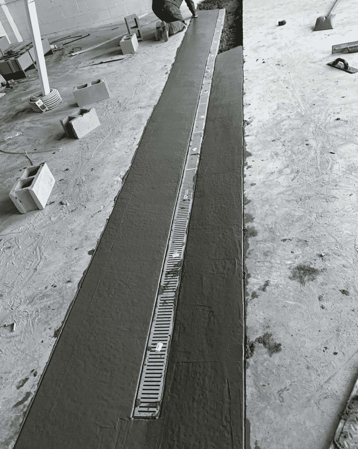 Drainage Installation Indoors
