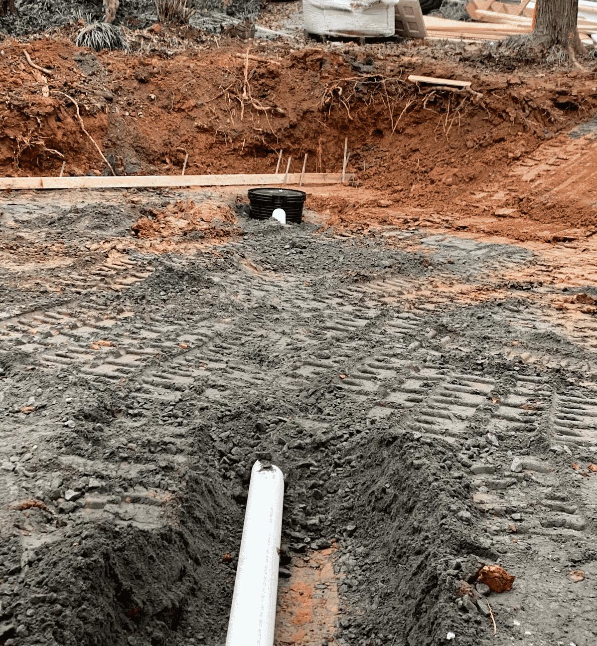 Drainage Installation job