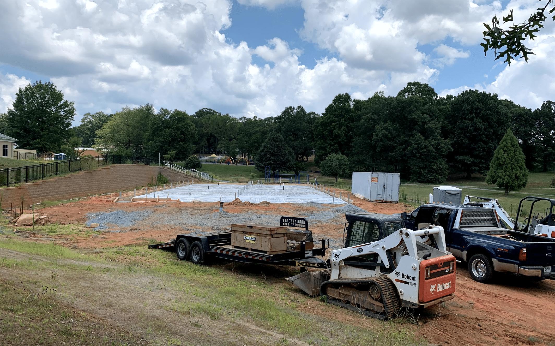 Concrete Job Site