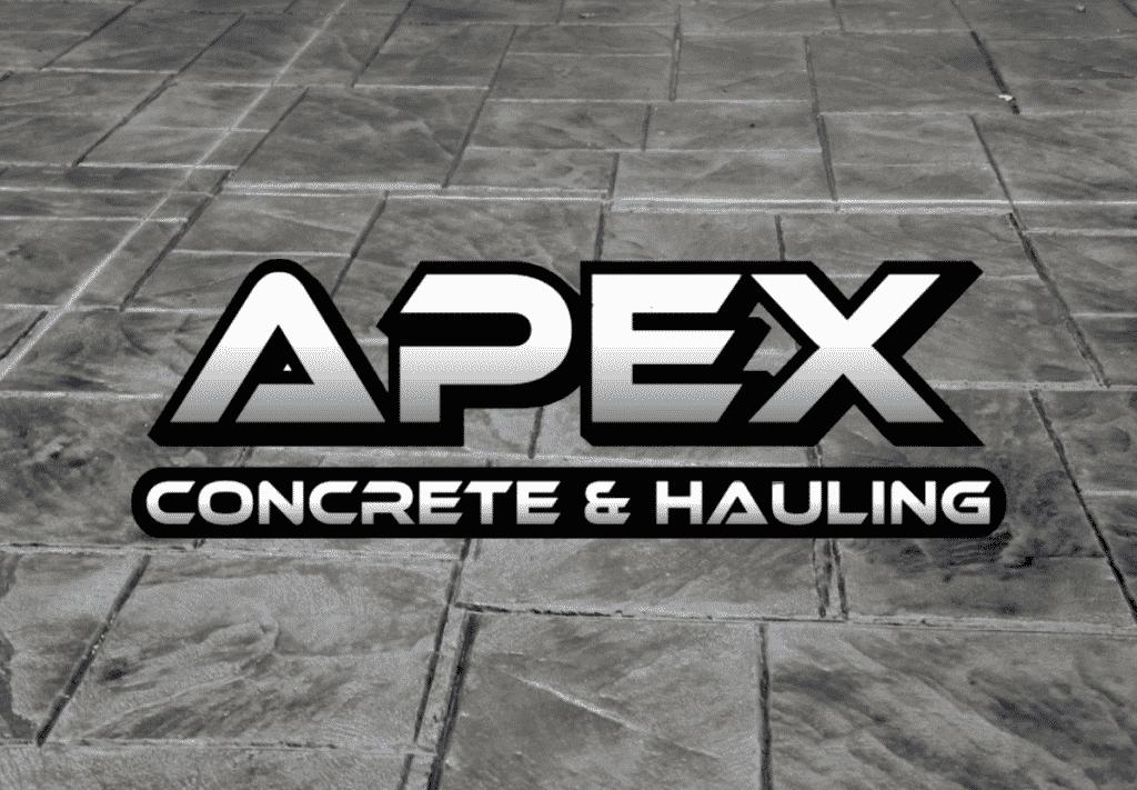 APEX Concrete & Hauling - Stamped Concrete