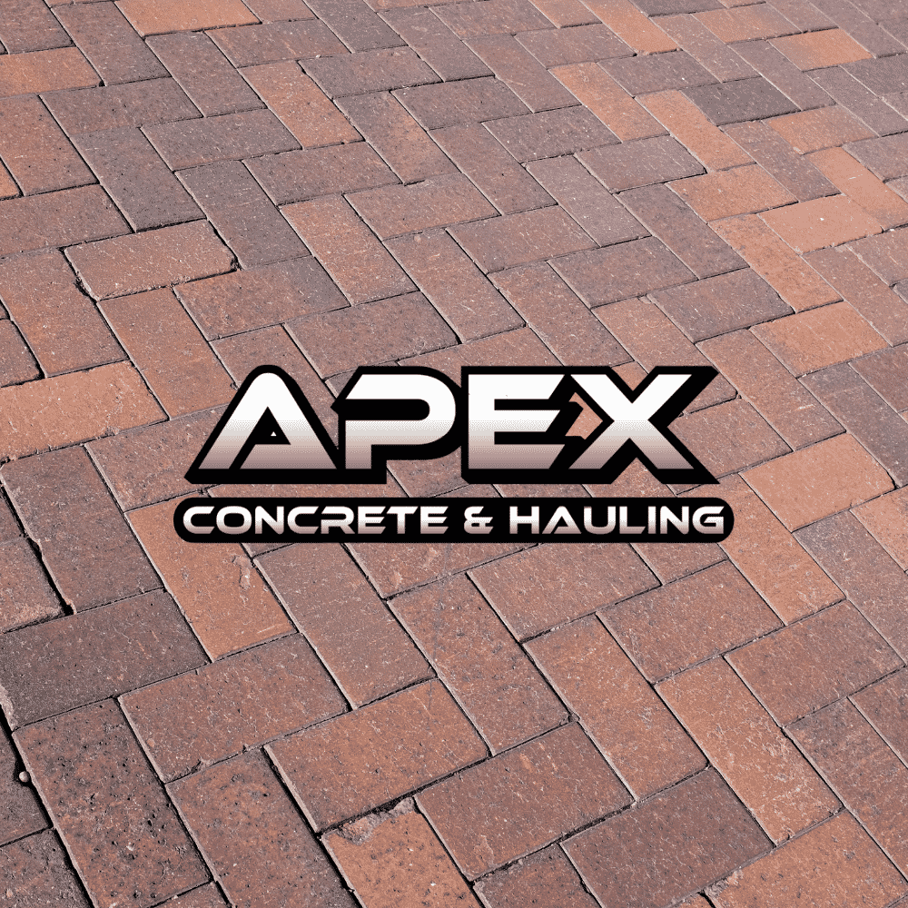 Brick Pavers and Apex logo
