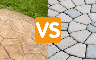 Stamped Concrete or Pavers: Patio Design 2021