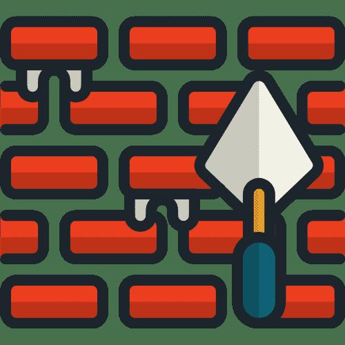 Construction Brick Material Icon